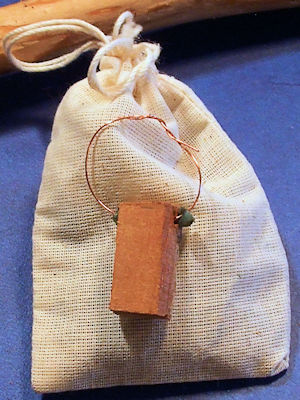 Free Medicine Bags With Each Shaman Drum Bob Makes For You at Shaman Drums And Mroe
