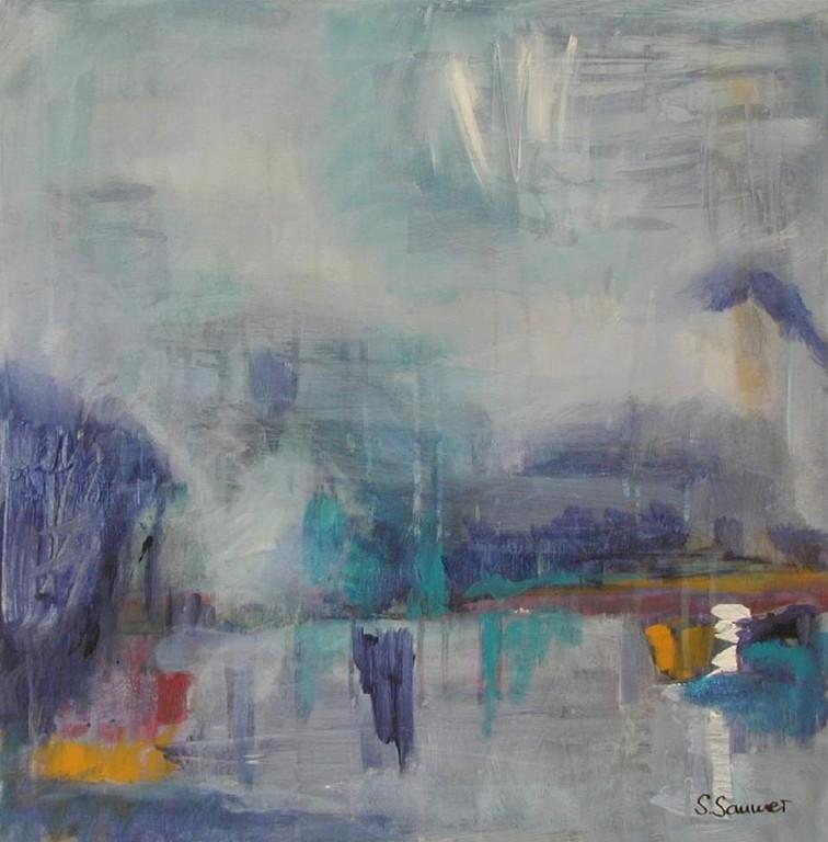 Die Nebel von Avalon  60 x 60  verkauft