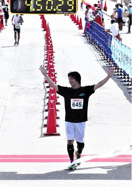 トライアスロン伊良湖大会完走!