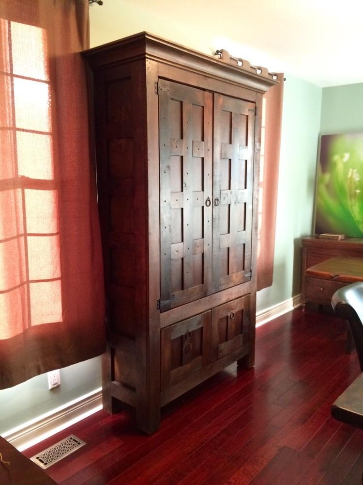 Rustic cabinet 4'x7'