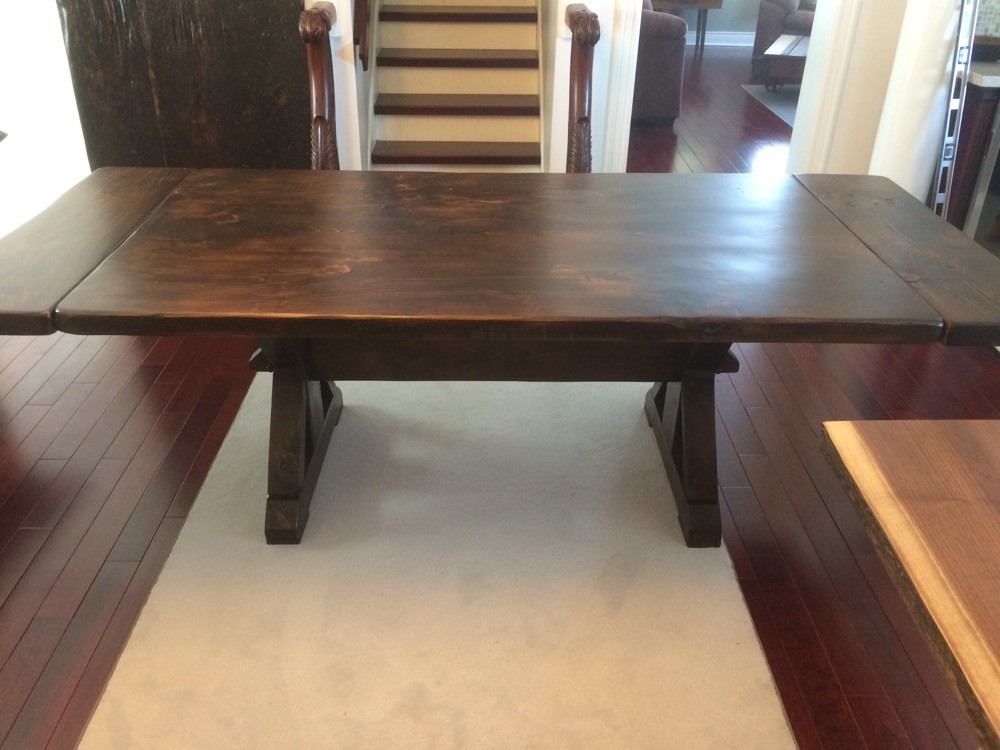 Table with extensions