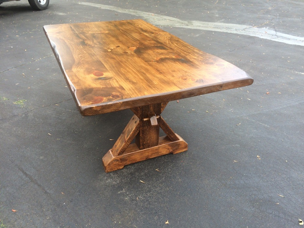 Sawbuck -Early American stain