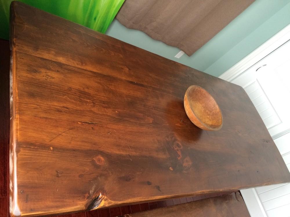 Barn board table (new pine)