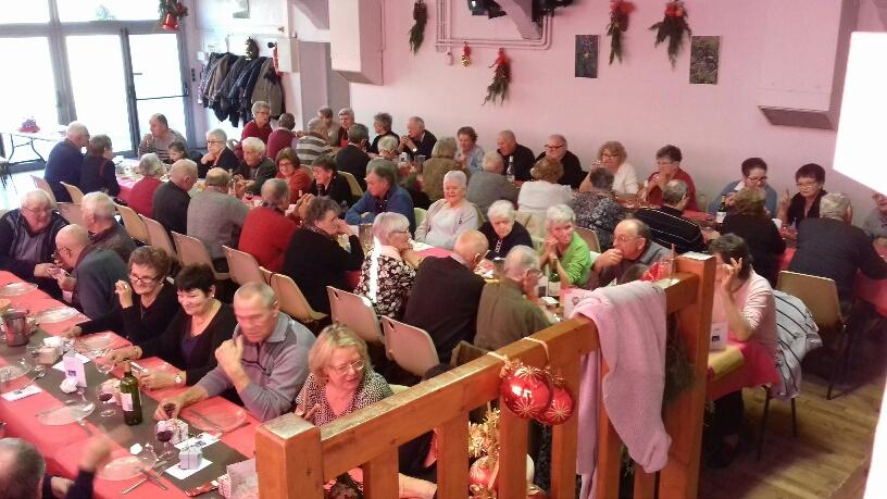 Le repas de Noël 2017
