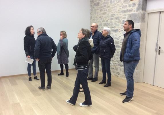 Le conseil municipal visite les nouvelles salles de réunion