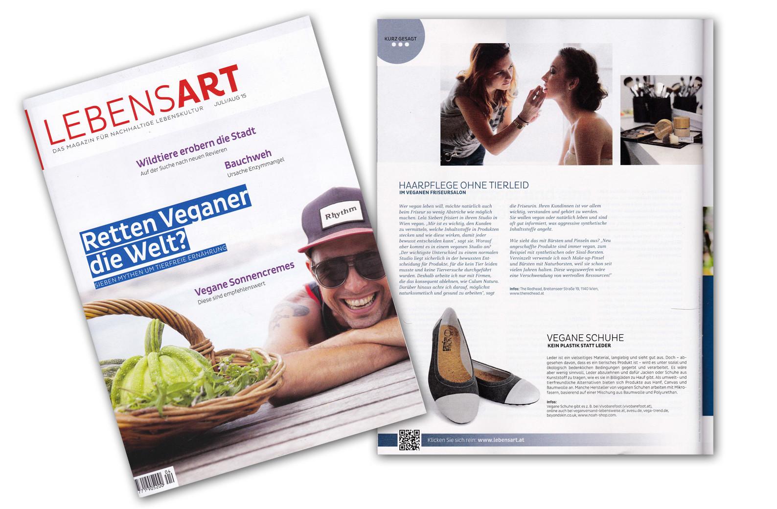 Lebensart | Mai 2015 - www.lebensart.at