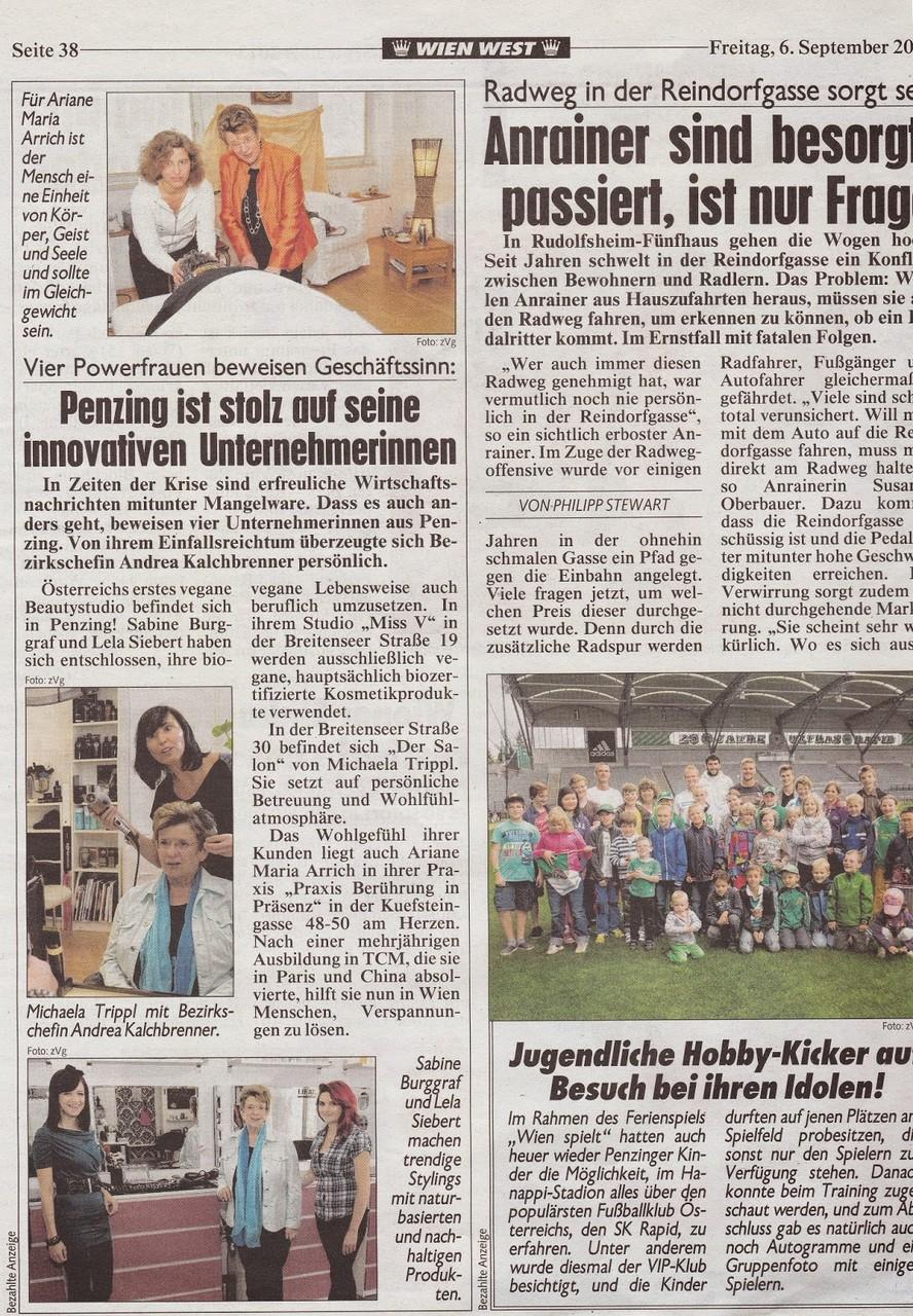Krone Zeitung Wien West | 06.09.2013