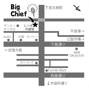 Big Chief Map