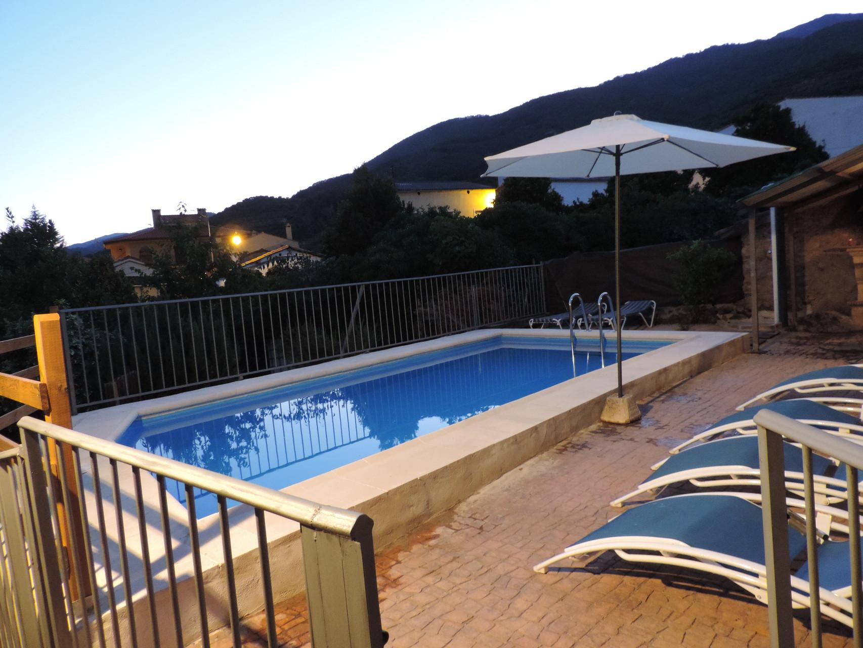 Casa rural casona de jerte valle del jerte que ver y alojamientos en casas rurales - Casas rurales en el jerte con piscina ...
