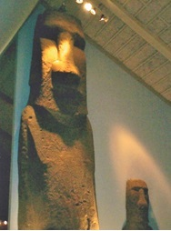 ノルウェー オスロ コンティキ号博物館 2003年6月        小島美代子氏提供