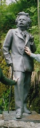 ノルウェー  ベルゲン郊外トロルハウゲン     グリーグ博物館 2003年6月           小島美代子氏提供