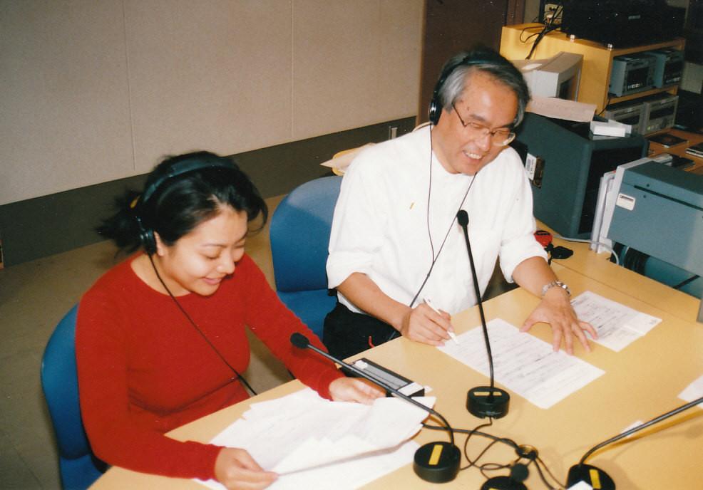 1996~1999年 FM福山ラジオパーソナリティー Radio personality for FM Fukuyama in 19986 - 1999