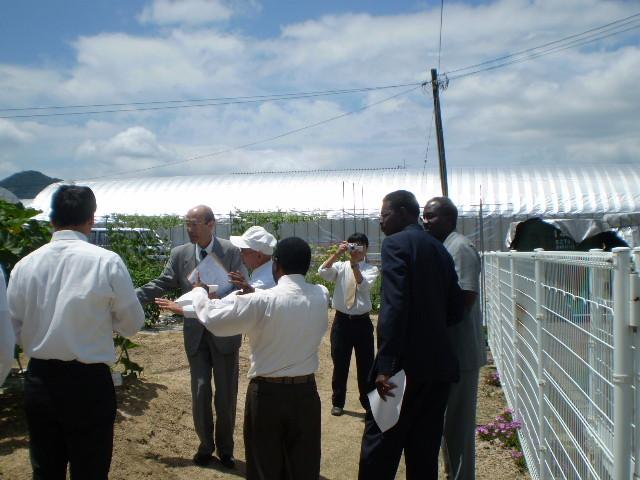 2008 果樹栽培技術の説明 アフリカ諸国大使