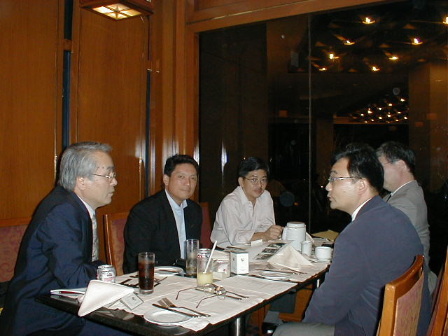 2001, Meeting with Hilippine SONY president