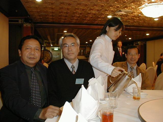 2001 APO国際フォーラム in 台湾 日本代表として参加1