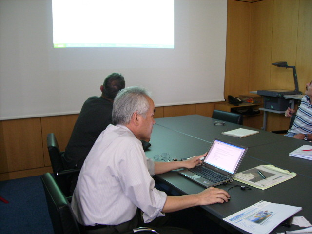 2007, Technology inspection tour to Swiss to introduce a Japanese company