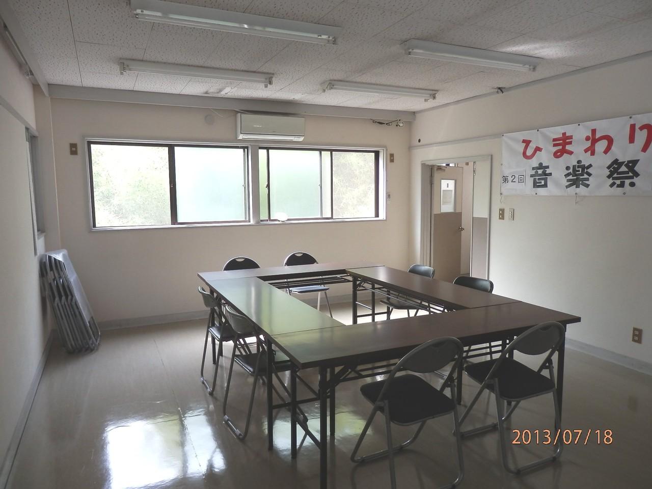 KECビル2階、201号室(10坪)内部(集会場として使用)