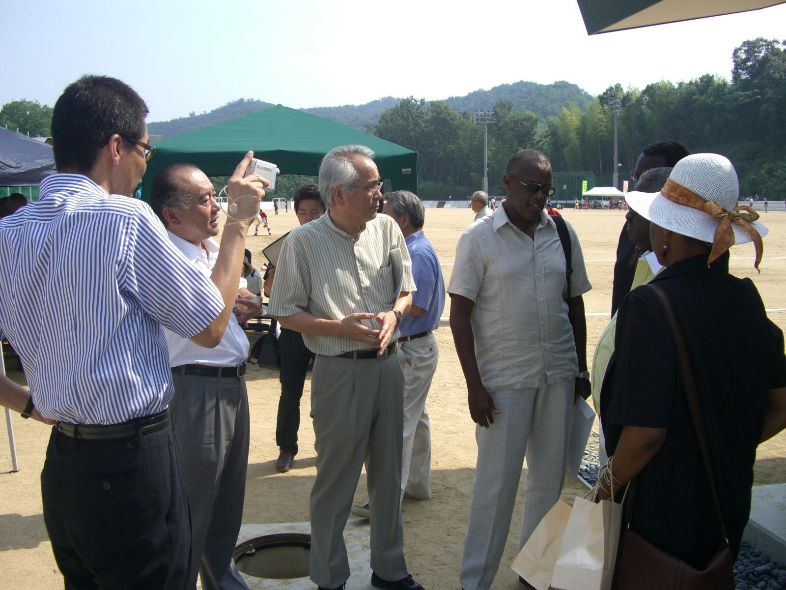 2007 浄水技術の説明 アフリカ諸国大使