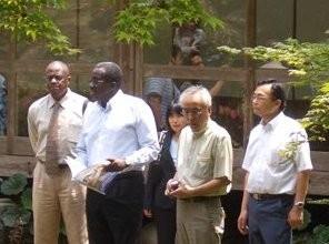 2008 浄水技術の説明 アフリカ諸国大使