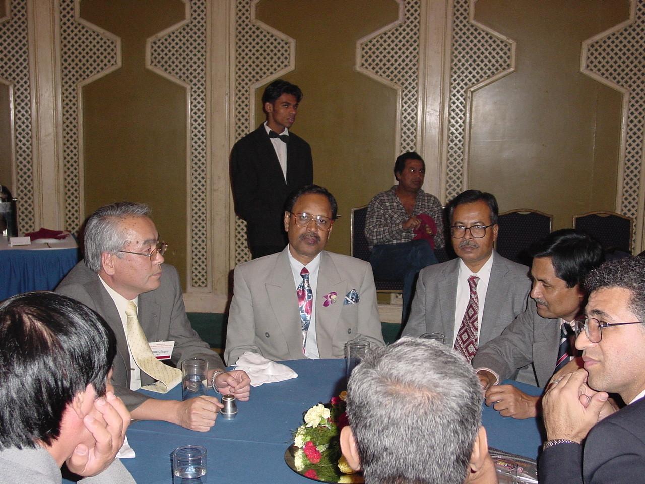 2002.11, APO International forum in Delhi representing Japan at the meeting