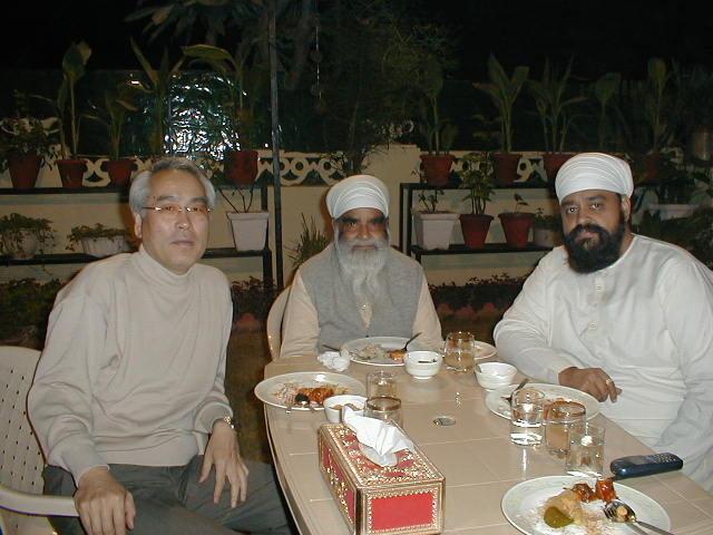 2002.11 APO国際フォーラム in デリー 日本代表として参加3