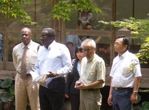 2008, introduction of water treatment technology to African Ambassadors to Japan