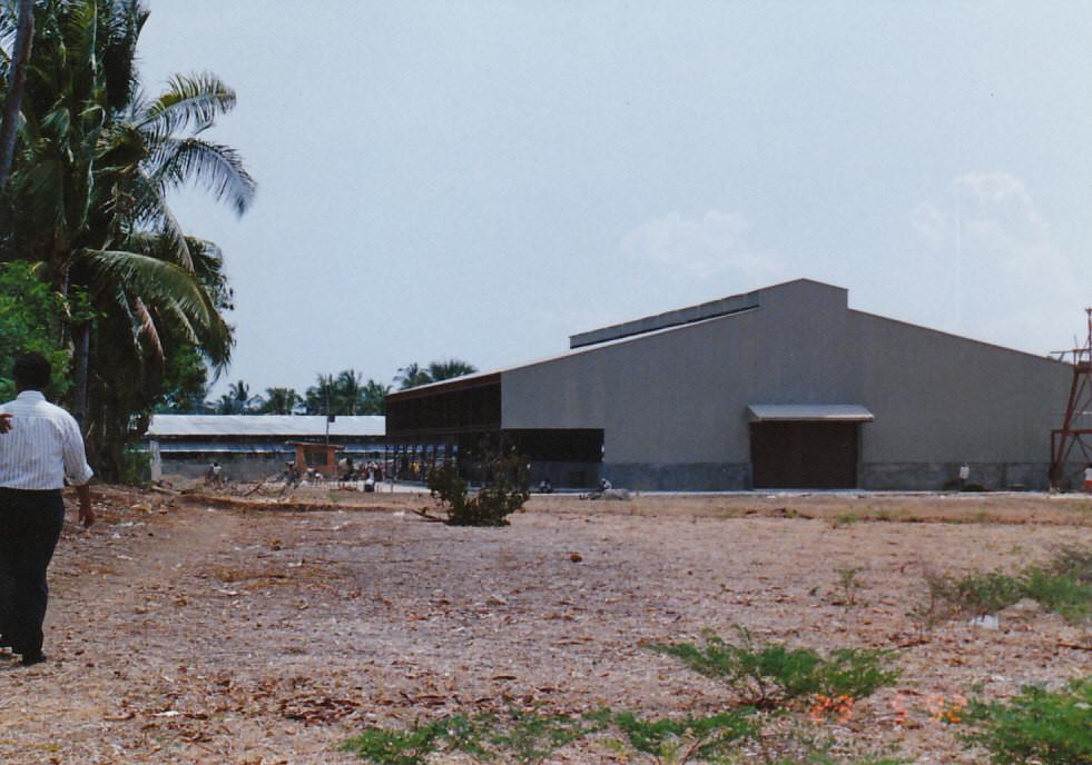 1990 フィリピンT社 工場用地取得、工場建設