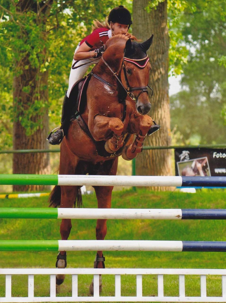 Mounted by Nora Tranins