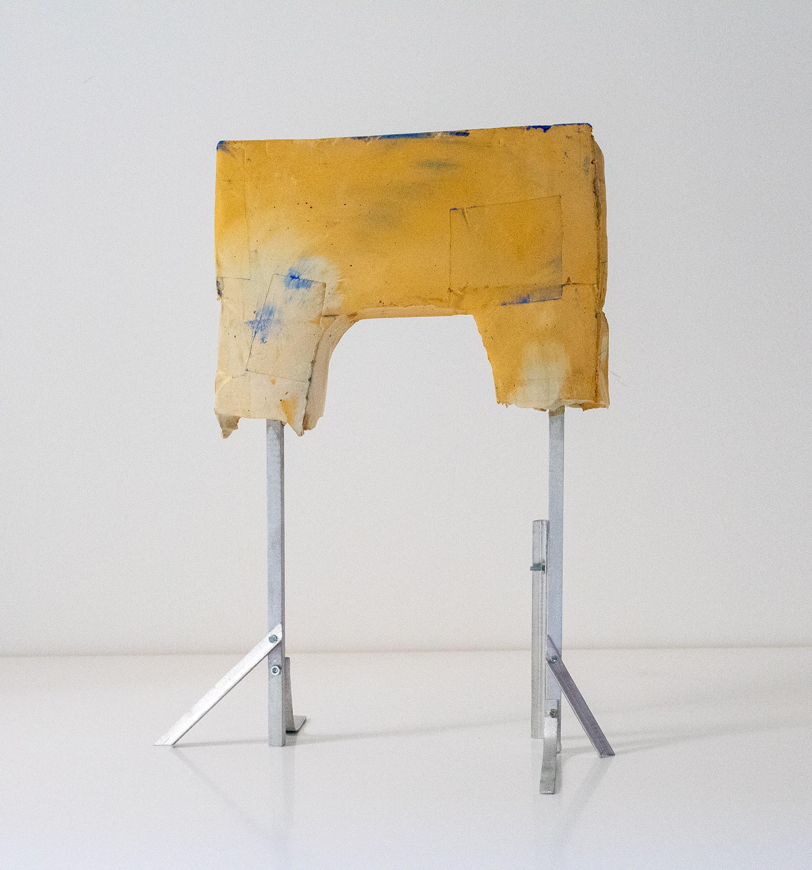 _Formschnitt Nr.2_Betonguss, Pigment, Aluminium_31 x 24 x 17 cm_2018