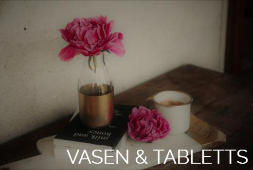Dekoration online kaufen Deko für Wohnung Summerwood Vase Schale Tablett