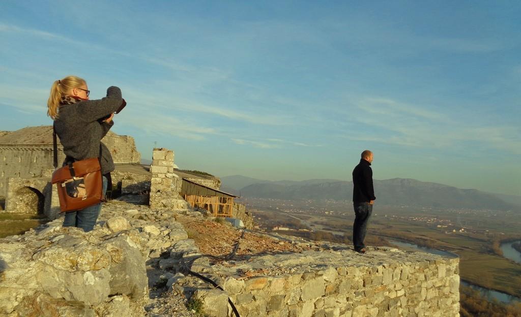 Auf der Burg Rozafa in Shkodra