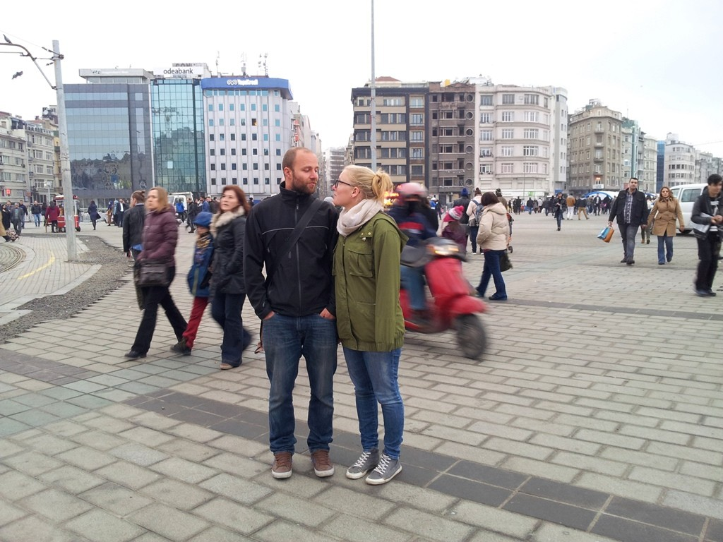 The Taksim Square