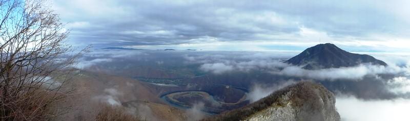Die Flusschleife von Ovcar Banja