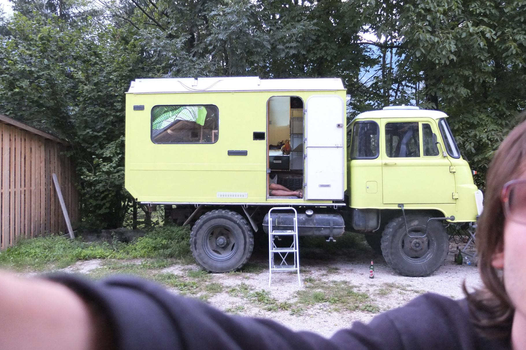 für die zweite Reise nach Slowenien.