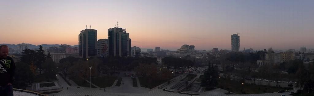 Tirana von oben
