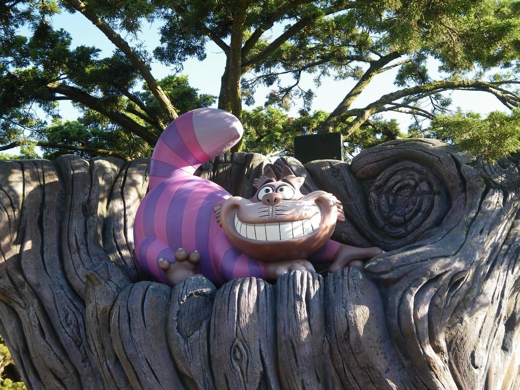 Disneyland Paris - Grinsekatze
