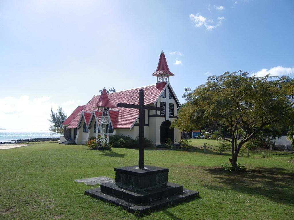 Die Kapelle Notre Dame Auxiliatrice am Cap Malheureux