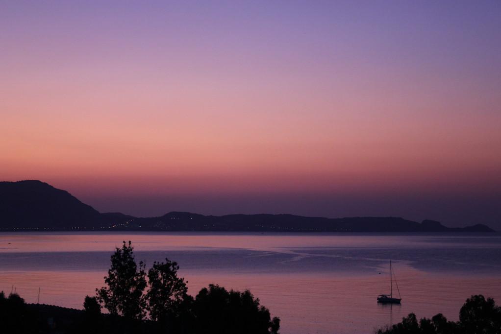 Frühaufsteher sollten sich den Sonnenaufgang nicht entgehen lassen