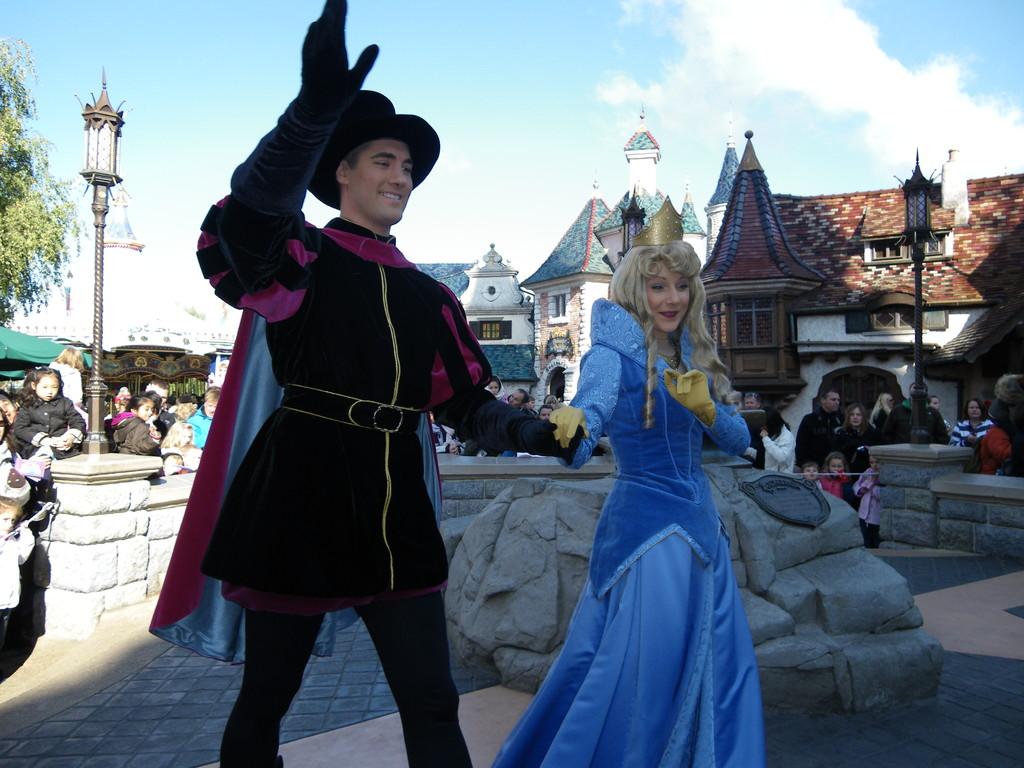 Disneyland Paris - Dornröschen und Prinz Philipp