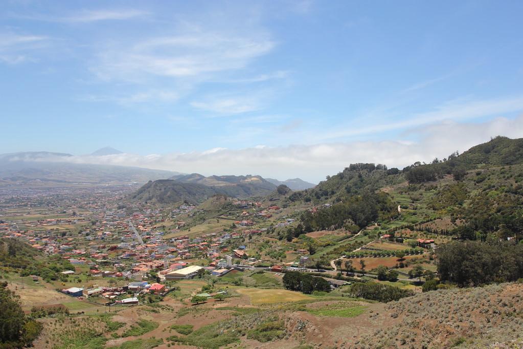 Blick vom Anaga-Gebirge im Norden Teneriffa's