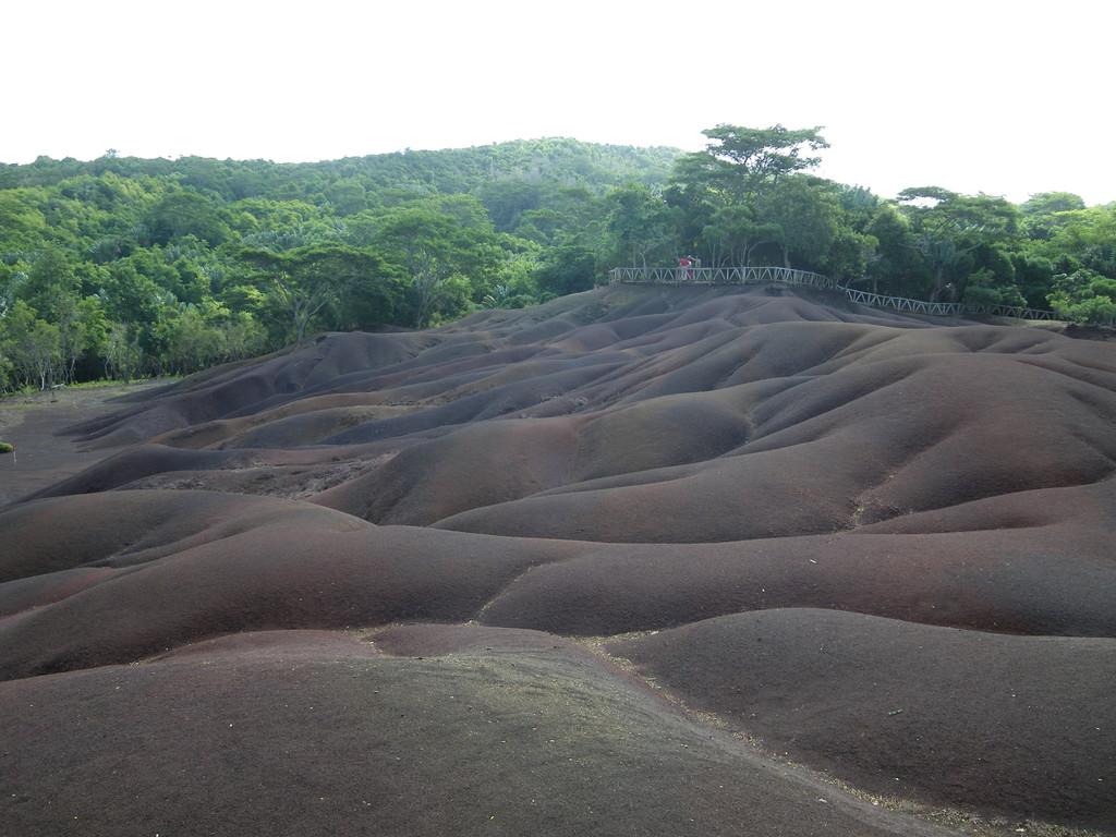 """Chamarel - die """"Siebenfarbige Erde"""" - ein Naturschauspiel im Süden der Insel"""