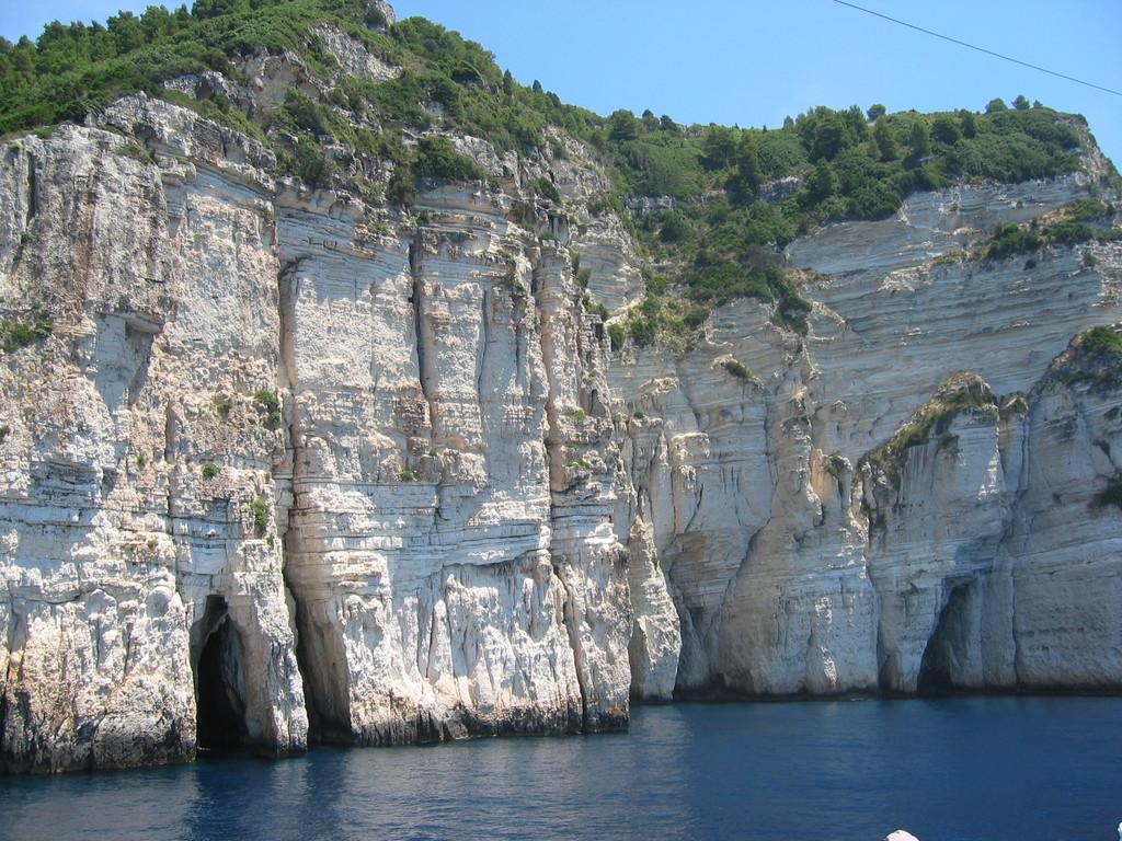 Paxos - Grotten
