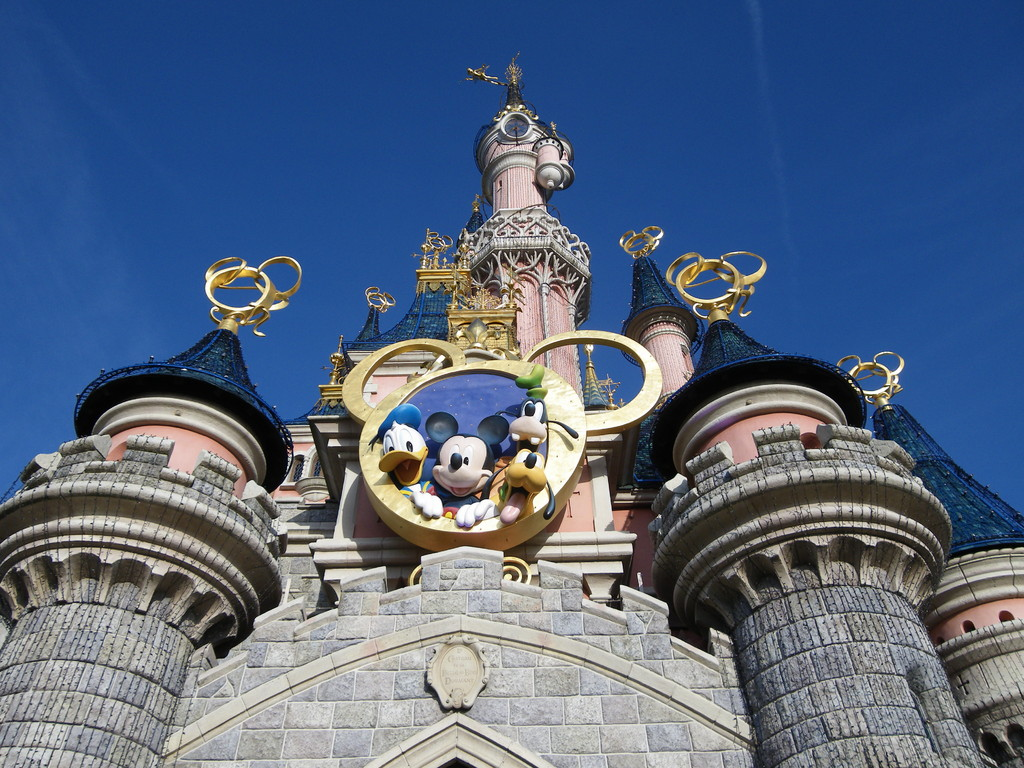 Disneyland Paris - Schloß