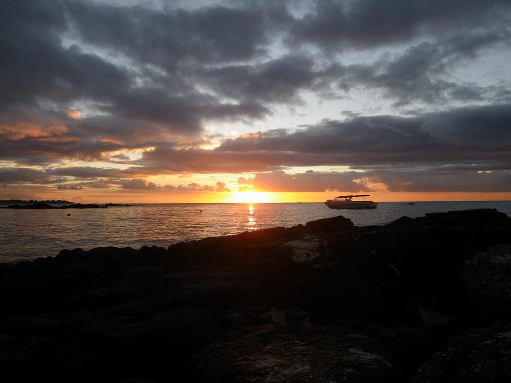 Romantische Sonnenuntergänge inklusive ...