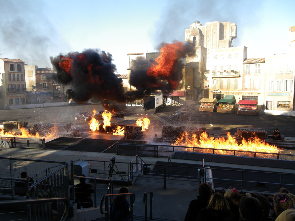 Walt-Disney-Studios Park - Stuntshow