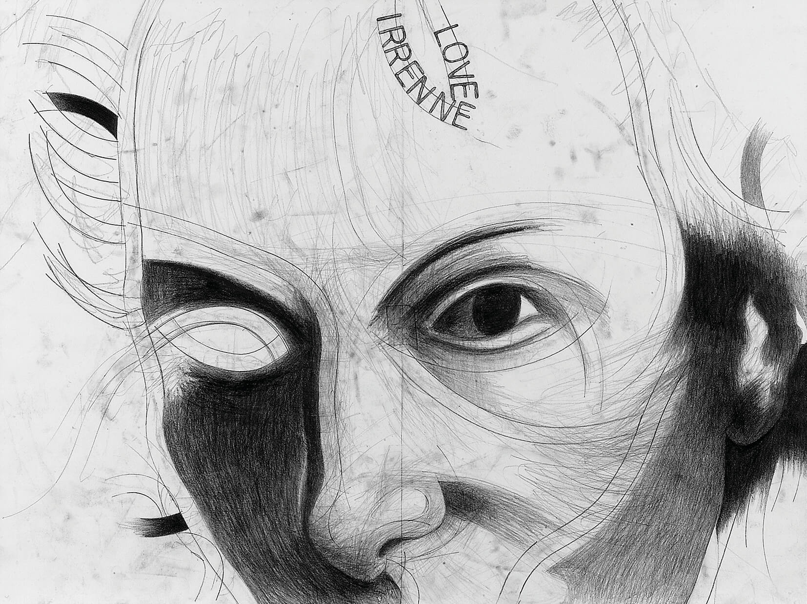 "Franz Graf/Irene Andessner ""IAFG #02 Grafit/Papier, je 56 x 42 cm, 2005"