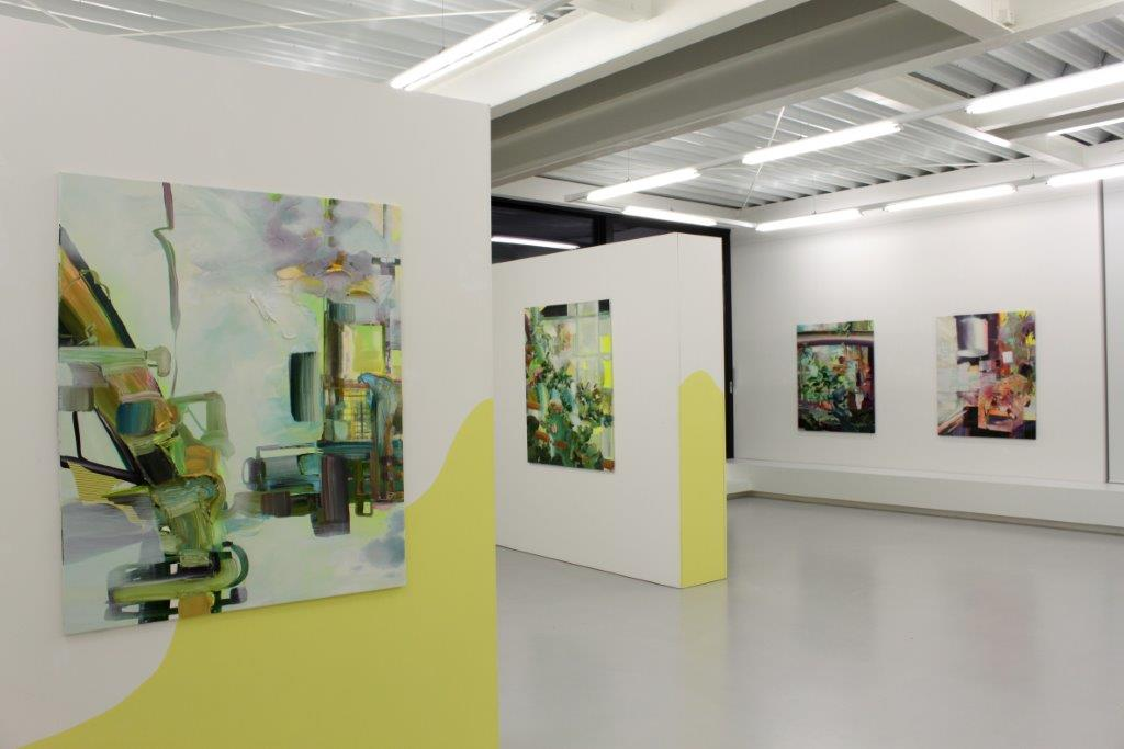 Yvette Gellis, Beyond all Scope of Sense, Ausstellungsansicht Brunnhofer Galerie, 2016
