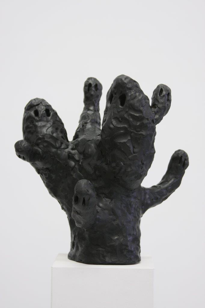 "Ronald Kodritsch, ""schwarze Geister Aufstand"", Ton, 2019,"