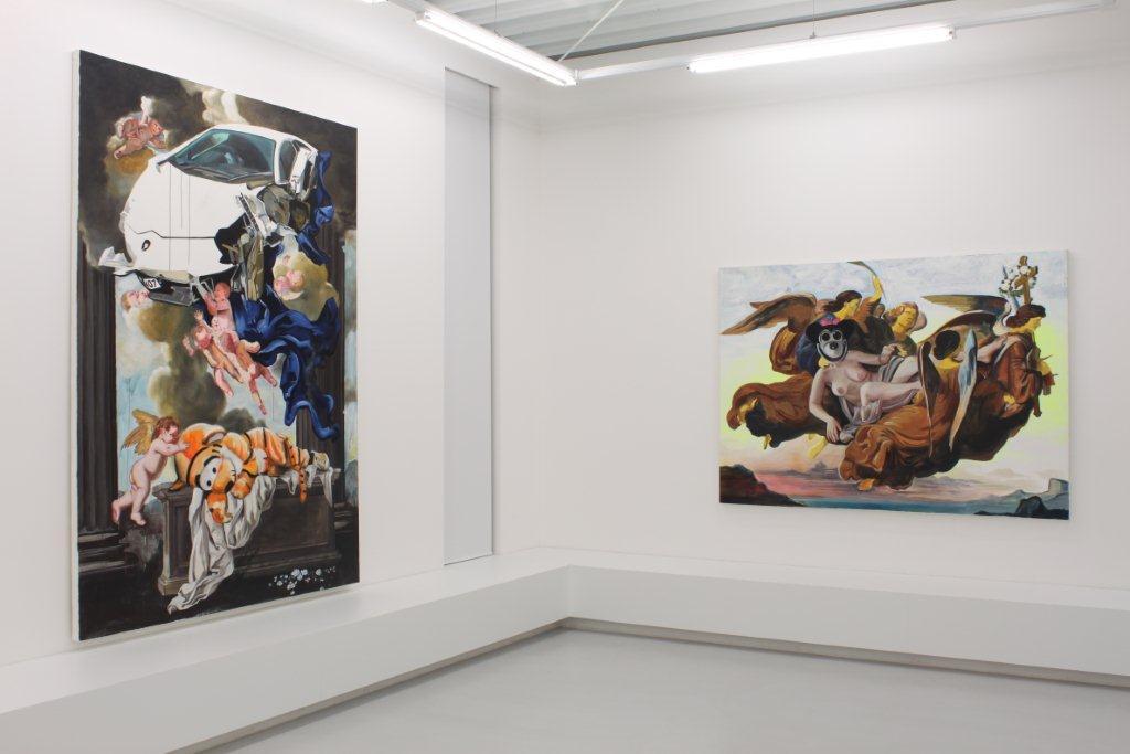 Katharina Karner, Past Forward, Ausstellungsansicht Brunnhofer Galerie, 2014
