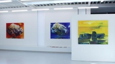 Bernd Zimmer, Bilder 1996 - 2016, Ausstellungsansicht Brunnhofer Galerie